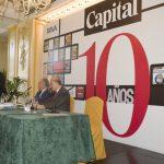 Décimo aniversario de la revista Capital