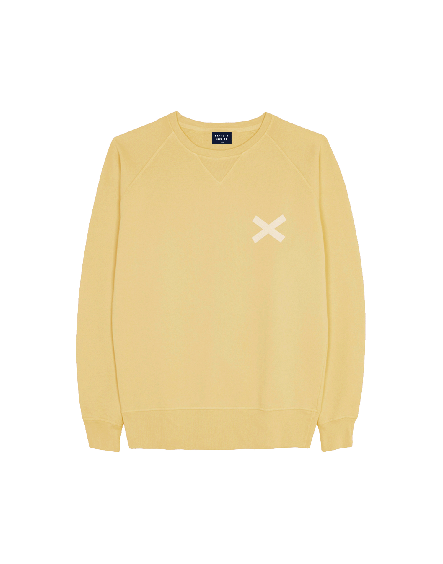 CROSS 74EUR..YELLOW SWEAT W