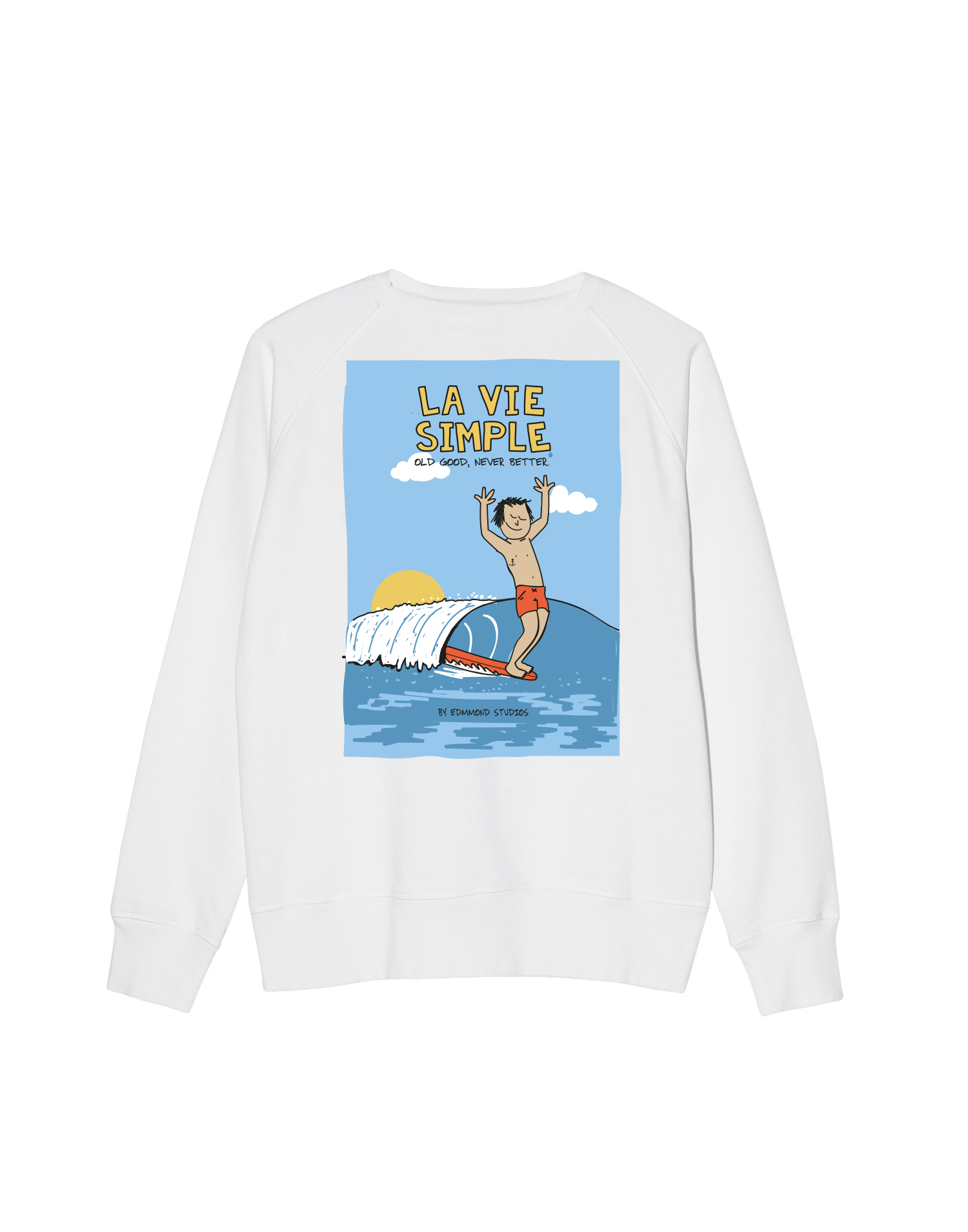 LA VIE SURF 78EUR..SW BACK OFF WHITE W