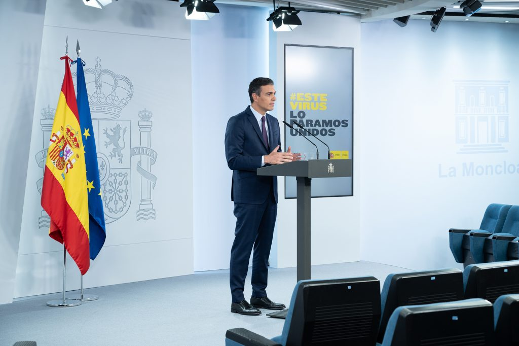 Pedro Sánchez La Moncloa